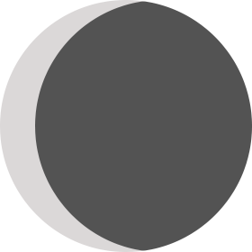 Moon phase (day 27)